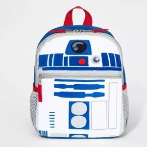 NWT! Star Wars R2-D2 Episode IX Trifold Backpack